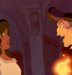 Frollo Hunchback of Notre Dame with Esmeralda picture image