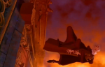 Frollo Disney Hunchback of Notre Dame death picture  image