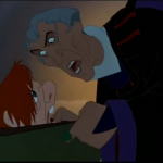 Frollo and Quaismodo  Disney Hunchback of Notre Dame  picture image