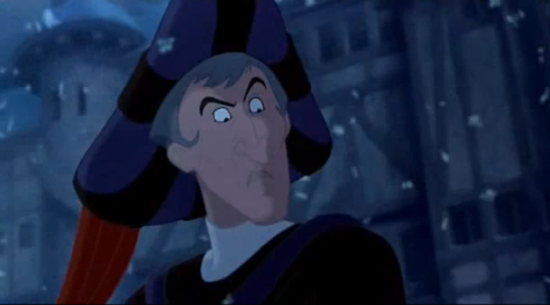 Frollo Hunchback of Notre Dame Disney picture image
