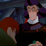Frollo and Quasimodo Hunchback of Notre Dame Disney