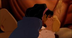 Esmeralda and Phoebus Disney Hunchback of Notre Dame picture image