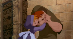Quasimodo accepted by the people Hunchback of Notre Dame Disney picture image