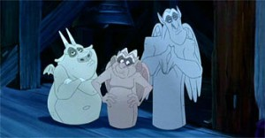 The Gargoyles; Hugo Laverne, Victor Hunchback of Notre Dame Disney