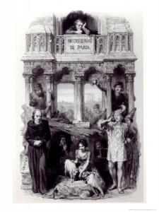 Hunchback of Notre Dame Character Illustration by Francois Joseph Aime De Lemud