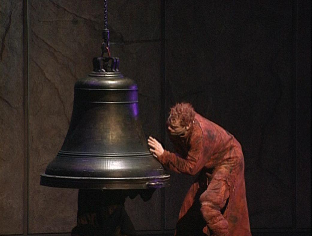 Quasimodo with a Bell Les Cloches Notre Dame de Paris picture image
