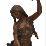 Hippolyte Francois Moreau Sculpture of Esmeralda