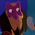 Clopin with Frollo Puppet Disney Hunchback of Notre Dame picture image