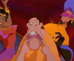 Clopin with Esmeralda Disney Hunchback Notre Dame picture image