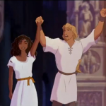Phoebus and Esmeralda Happy Ending Disney Hunchback of Notre Dame picture image
