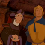 Phoebus and Frollo Disney Hunchback of Notre Dame