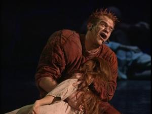 Garou as Quasimodo & Helene Segara Danse mon Esmeralda, Notre Dame de Paris picture image