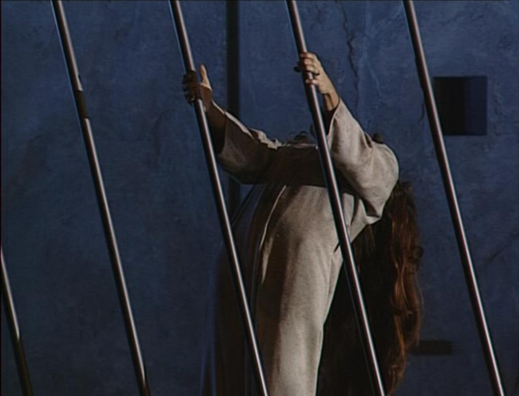 Esmeralda in jail les oiseaux qu'on met en cage  Notre Dame de Paris picture image