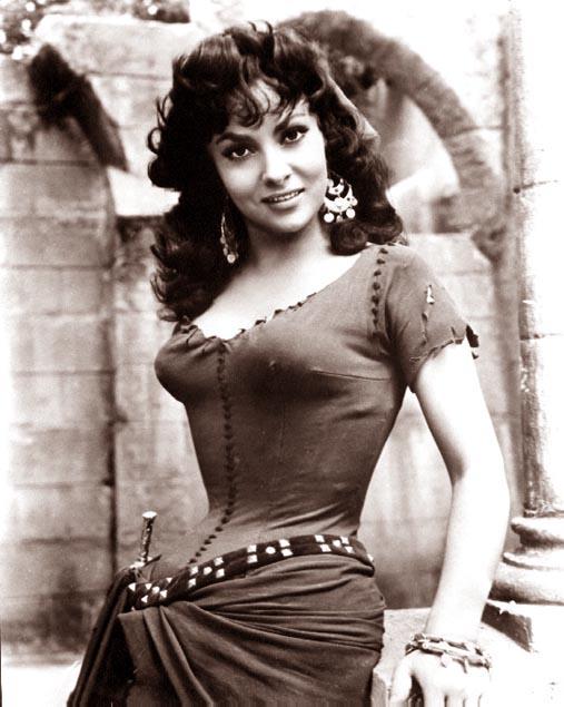 Gina Lollobrigida as Esmeralda Hunchback of Notre Dame 1956 image picture