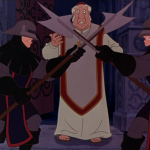 Archdeacon Disney Hunchback of Notre Dame picture image
