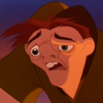 Quasimodo shine in the eye Disney Hunchback of Notre dame picture image