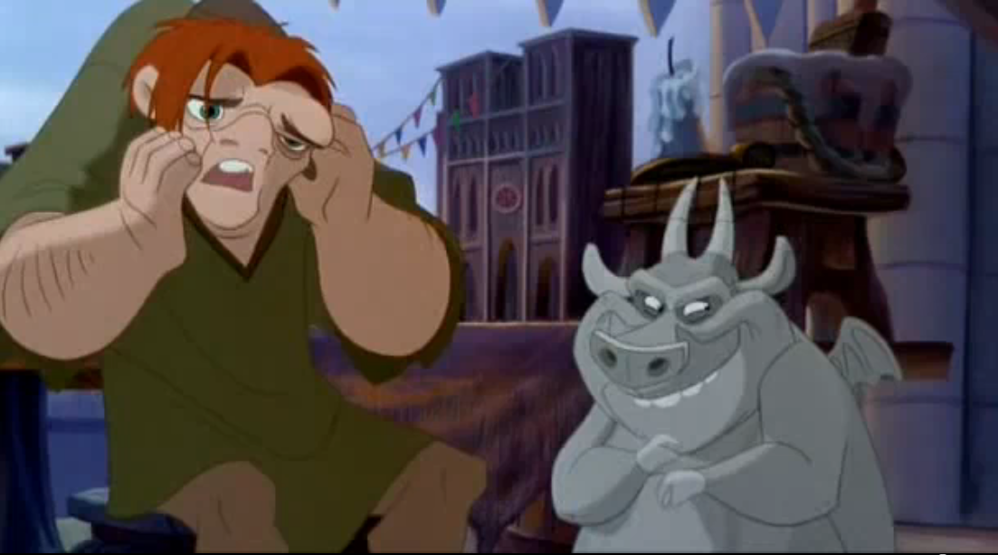 Quaismodo and Hugo Disney Hunchback of Notre Dame picture image