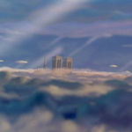 The Opening Shot of  Disney's Hunchback of Notre Dame picture image