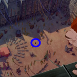 Frollo in the Square during Out There Disney Hunchback of Notre Dame picture image