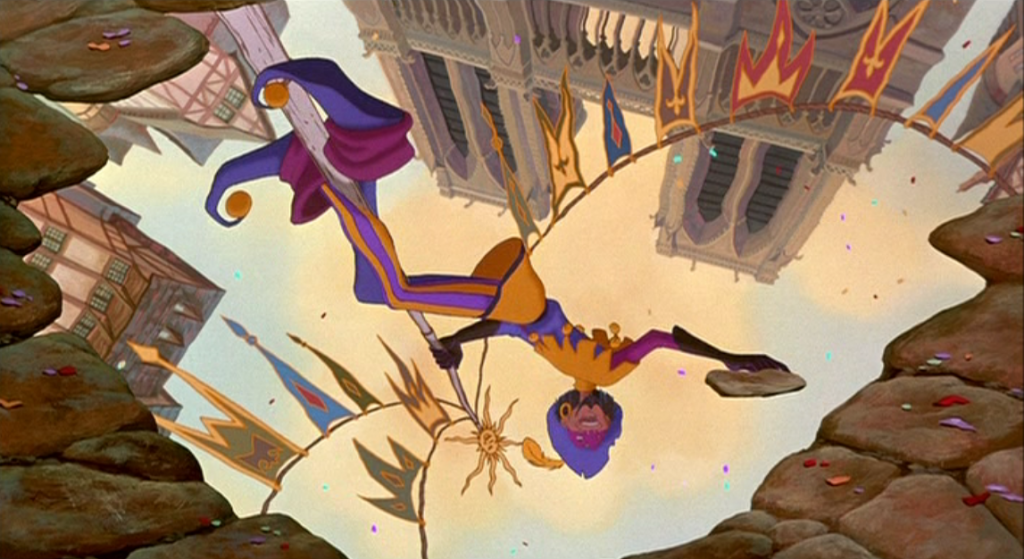 Clopin Topsy Turvy Disney Hunchback Notre Dame image picture