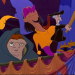 Shock the Priest Topsy Turvy Disney Hunchback of Notre Dame picture image