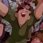 Quaismodo Bells of Notre dame reprise Disney Hunchback of Notre Dame picture image