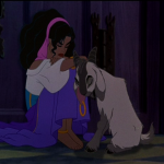 Esmeralda sulks Disney Hunchback of Notre Dame picture image