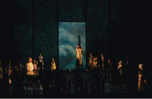 Judy Weiss as Esmeralda singing Einmal Der Glöckner von Notre Dame picture image