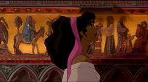 Esmeralda singing God Help the Outcasts Disney Hunchback of Notre Dame picture image
