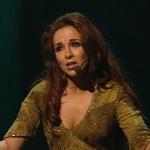 Helene Segara singing Ave Maria Paien in Notre Dame de Paris picture image