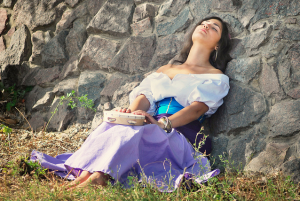 Alex Kami as Esmeralda Disney Version cosplay costume picture image