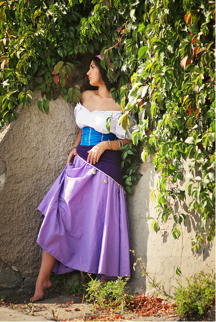Alex Kami as Esmeralda Disney Version costume Cosplay picture image