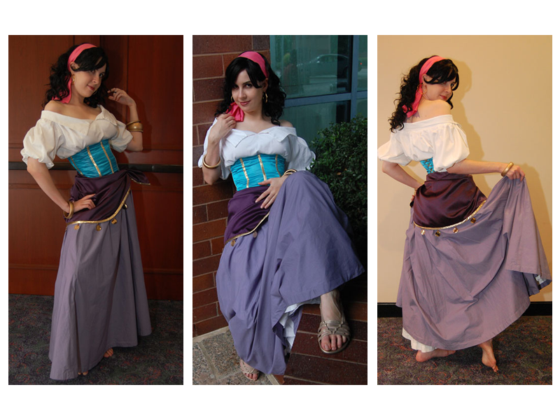 Vampirate777 as Esmeralda Disney Version costume Cosplay picture image