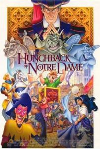 Cast Poster of Disney Hunchback of Notre Dame
