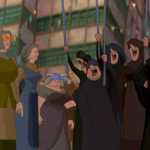 Topsy Turvy CG Crowds Hunchback of Notre Dame Disney