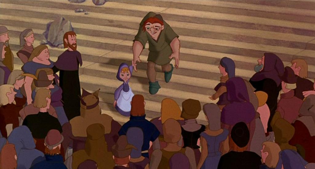 Finale CG Crowds Hunchback of Notre Dame Disney