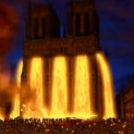Molten Lead over Notre Dame Disney Hunchback of Notre Dame