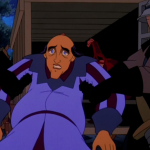 Sarousch being arrested Sequel Hunchback of Notre Dame II Disney picture image
