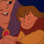 Quasimodo and Zephyr Sequel Hunchback of Notre Dame II Disney picture image