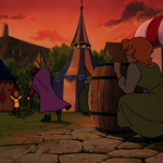 Quasimodo, Madeline and Zephyr I'd Stick With You Hunchback of Notre Dame II Disney Sequel 2 picture image