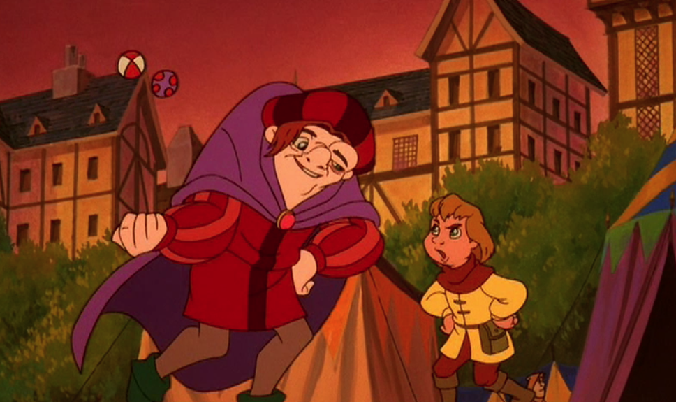 Quasimodo and Zephyr I'd Stick With You Hunchback of Notre Dame II Disney Sequel 2 picture