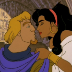 Phoebus and Esmeralda Le Jour D'Amour Disney Hunchback of of Notre Dame II 2 Sequel picture image