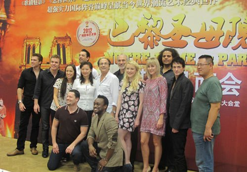 Cast of Notre Dame de Paris Asian Tour 2011 picture image