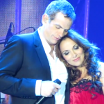 Garou and Helene Segara performing Ma Maison c'est Ta Maison in Kiev picture image