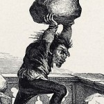 Quaismodo on the Offense L.H. Rudder 1884 picture image