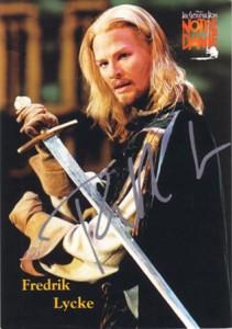 Fredrik Lycke as Phoebus in Der Glöckner von Notre Dame picture image