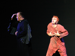 Robert Marien and Matt Laurent Notre Dame de Paris 2011-2012 Asian Tour image picture