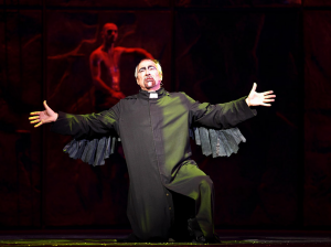 Robert Marien as Frollo during Belle  Notre Dame de Paris 2011-2012 Asian Tour picture image
