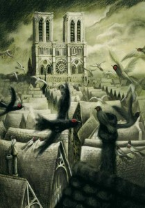 Notre Dame and Paris by Benjamin Lacombe Notre Dame de Paris picture image