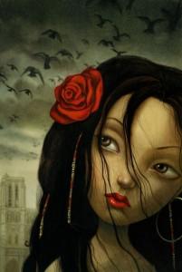 Esmeralda by Benjamin Lacombe Notre Dame de Paris picture image